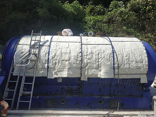 Rubber Pyrolysis Plant in Korea