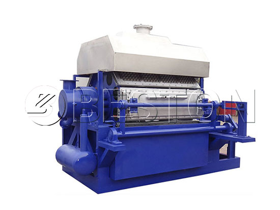 Semi-automatic Egg Tray Making Machine