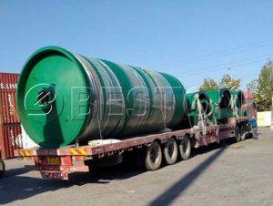 Waste Pyrolysis Machine to Canada