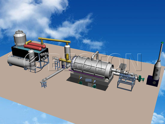 Waste Tyre Recycling Plant Design