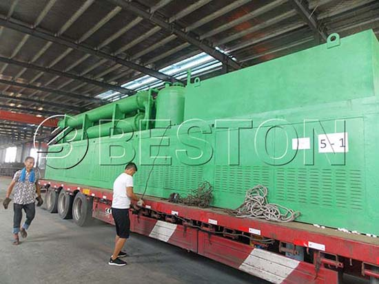 Tire Recycling Machine for Sale Romania