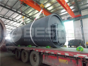 BLJ-10 Tyre Recycling Equipment to South Africa