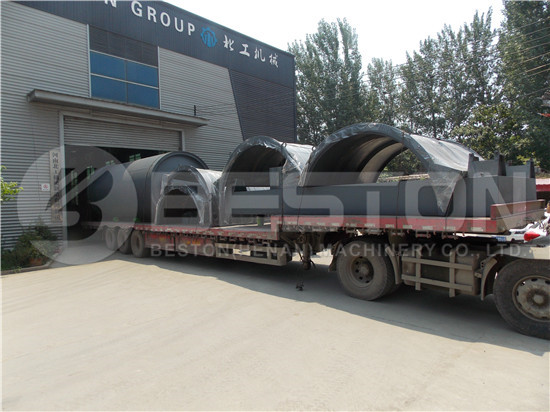BLJ-10 Tyre Recycling Machine to South Africa