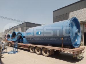 Waste Pyrolysis Machine to Nigeria