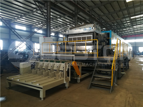 Egg Tray Making Machine to Saudi Arabia