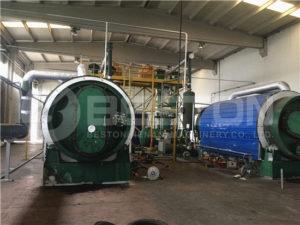 Tyre Pyrolysis Plant | Quality Waste Tire Pyrolysis Machine