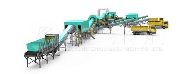 Design of Garbage Recycling Plant