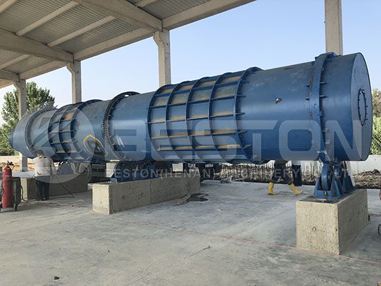 Biomass Pyrolysis Plant in Turkey