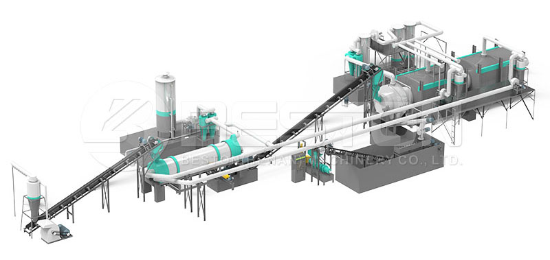 Design of Palm Shell Charcoal Machine