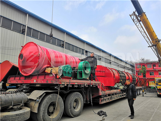 Sawdust Charcoal Machine to Russia