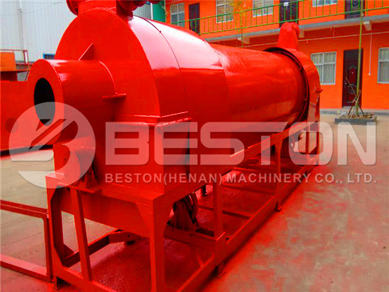 Dryer for Sawdust Charcoal Machine