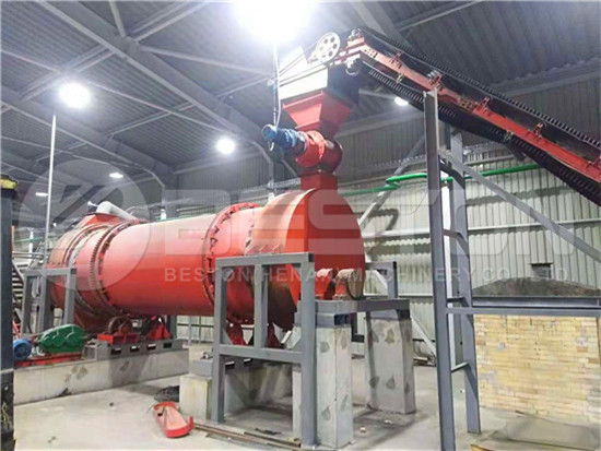 Rice Hull Charcoal Machine in Ukraine