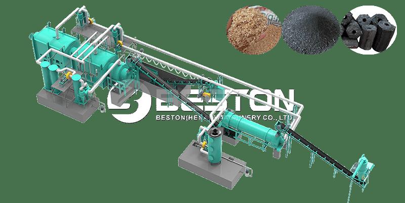 Sawdust Charcoal Making Machine Design