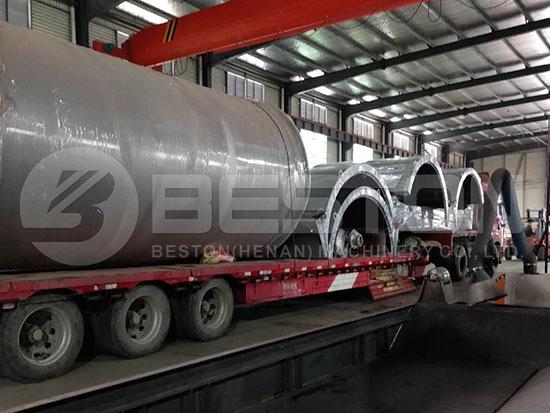 Tyre Pyrolysis Machine to Romania