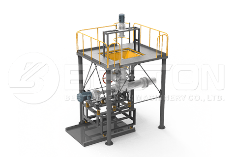 Auto Feeder for Batch to Continuous Pyrolysis Plant