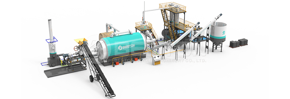 Batch to Continuous Pyrolysis Plant