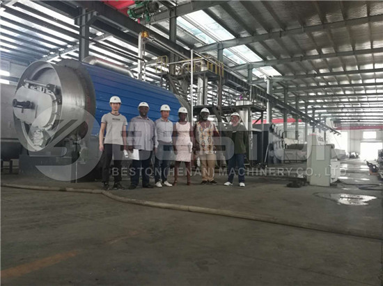 Beston offers Factory Tyre Recycling Plant Cost