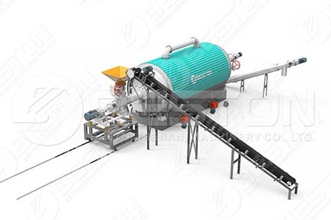 Feeder Design of Batch to Continuous Pyrolysis Plant