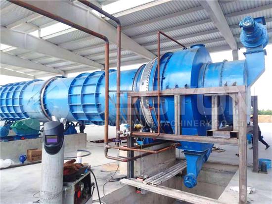 Biomass Carbonization Plant in Turkey