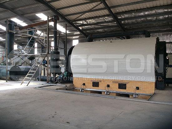 Waste Tyre Recycling Plant in Jordan