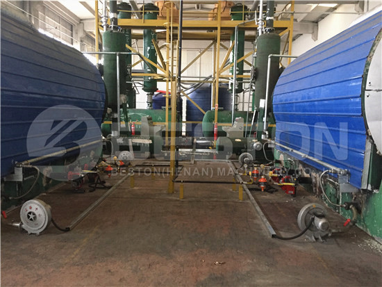 Waste Tyre Recycling Plant in Turkey