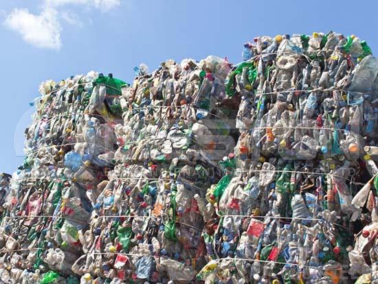Sorted Plastic Waste