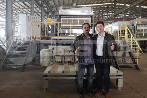 Egg Tray Machine to Saudi Arabia
