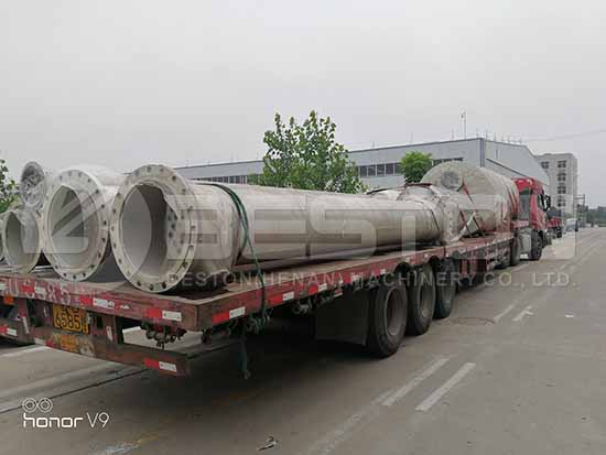 Oil Distillation Equipment to Romania