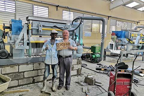 Egg Tray Machine in Dominica