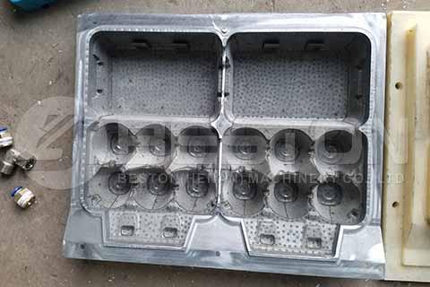 6-hole Egg Carton Mold