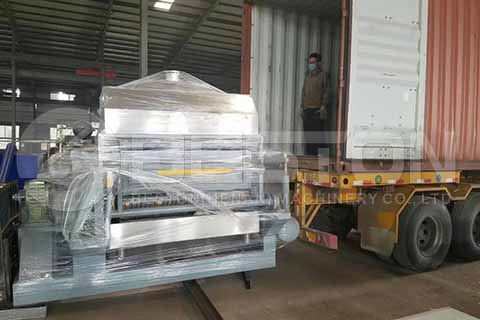 Egg Carton Making Machine to Angola