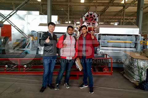 Indian Customers Visit Factory