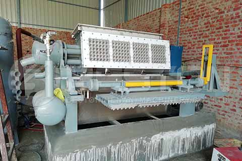 Manual Egg Tray Machine in India