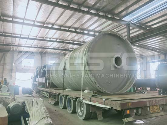 Waste Pyrolysis Machine to India